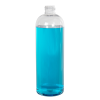 16 oz. Cosmo High Clarity Round Bottle with 24/410 Neck (Cap Sold Separately)