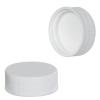 28/400 White Polypropylene Cap with Pressure Sensitive Liner