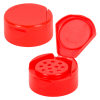 "43/485 Red 11 Hole Flapmate® Spice Cap with PS113 Liner - .125"" Holes"