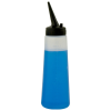 8 oz. LDPE Applicator Bottle with 38/400 Black Slant Tip Applicator