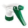 "28/400 Green & White Sprayer with 7-1/4"" Dip Tube (Bottle Sold Separately)"