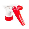 "28/400 Red & White Sprayer with 7-1/4"" Dip Tube (Bottle Sold Separately)"