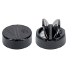 "53/485 Black 13 Hole Flapper® Spice Cap with PS113 Liner - .100"" Holes"