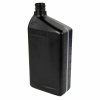 32 oz. Black HDPE Oil Bottle with 28mm Neck (Cap Sold Separately)