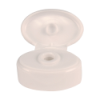 White Snap Cap with Silicone Valve