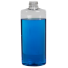 8 oz. Clear PET Oval Bottle with 24/410 Neck (Cap Sold Separately)