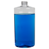 16 oz. Clear PET Oval Bottle with 28/410 Neck (Cap Sold Separately)