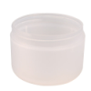 8 oz. Natural Frosted Double Wall Jar with Domed Bottom & 89mm Neck (Cap Sold Separately)