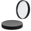 110/400 Black Polypropylene Cap with Pressure Sensitive Liner
