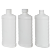 16 oz. HDPE White Oval Bottle 28/410 Neck  (Cap Sold Separately)