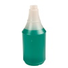 24 oz. HDPE Delta Round Spray Bottle with 28/400 Neck (Sprayer Sold Separately)