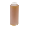 16 oz. HDPE Cylindrical Honey Bottle with 38/400 Neck  (Cap Sold Separately)