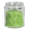 4 oz. Clear Glass Straight Sided Jar with 58/400 Neck - Case of 24 (Cap Sold Separately)