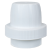 63mm Polypropylene White Detergent Cap