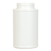 8 oz. HDPE White Tank Bottles with 45/405 Neck  (Cap Sold Separately)