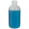 4 oz. HDPE Natural Boston Round Bottle with 24/410 Neck