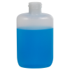 2 oz. HDPE Natural Oval Bottle with 20/410 Neck  (Cap Sold Separately)