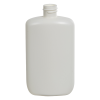 4 oz. White HDPE Oval Bottle with 20/410 Neck  (Cap Sold Separately)