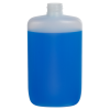8 oz. Natural HDPE Oval Bottle with 24/410 Neck  (Cap Sold Separately)