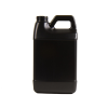 64 oz. Black HDPE F-Style Jug with 38/400 Neck  (Cap Sold Separately)