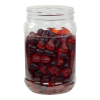 32 oz. Clear PET Jar with 89/400 Neck (Caps Sold Separately)