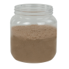 58 oz. Clear PET Jar with 110/400 Neck (Caps Sold Separately)