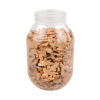 128 oz. (1 Gallon) Clear PET Jar with 100/400 Neck (Caps Sold Separately)