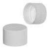 24/410 White Polypropylene Cap with Pressure Sensitive Liner