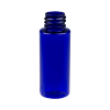 1 oz. Cobalt Blue PET Cylinder Bottle with 20/410 Neck  (Cap Sold Separately)