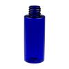 2 oz. Cobalt Blue PET Cylinder Bottle with 20/410 Neck  (Cap Sold Separately)