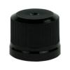 18mm KERR Black Tamper Evident Cap