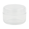 pet clear round jar