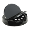 89/400 Black 5-Hole Heat Seal Cap