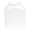 31 oz. HDPE Rectangle Jar with 70/400 Neck
