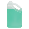 128 oz. HDPE Slant Handle Jug with 38/400 Neck (Cap Sold Separately)