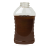 24 oz. Ribbed Hourglass Sauce Bottle