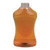 40 oz. PET Honeycomb Hourglass Sauce Bottle