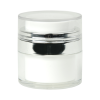 15mL White Acrylic Airless Jar with Cap
