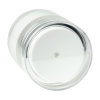 50mL White Acrylic Airless Jar & Cap