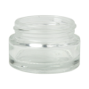 15mL Clear Glass Jar with 43/400 Neck (Caps sold separately)