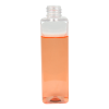 4 oz. Clear PET Square Bottle with 20/410 Neck (Caps sold separately)