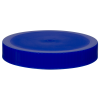89/400 Blue Polypropylene Unlined Ribbed Cap