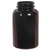 250cc Dark Amber PET Packer Bottle with 45/400 Neck (Cap Sold Separately)