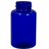 300cc Cobalt Blue PET Packer Bottle with 45/400 Neck (Cap Sold Separately)