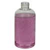 8 oz. Clear PET Squat Boston Round Bottle with 24/410 Neck (Caps Sold Separately)