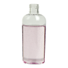 1 oz. Clear PET Cosmo High Clarity Oval Bottle with 15/415 Neck (Cap Sold Separately)