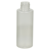 Frosted Clear PET Cylinder Bottle with 20/410 Neck