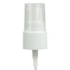 "20/410 White Smooth Treatment Pump - 5-1/4"" Dip Tube & 130mcl Output"