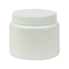 4 oz. White HDPE Wide Mouth Jar with 63/400 Cap
