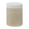 6 oz. Natural Straight Sided Jar with 58/400 Cap